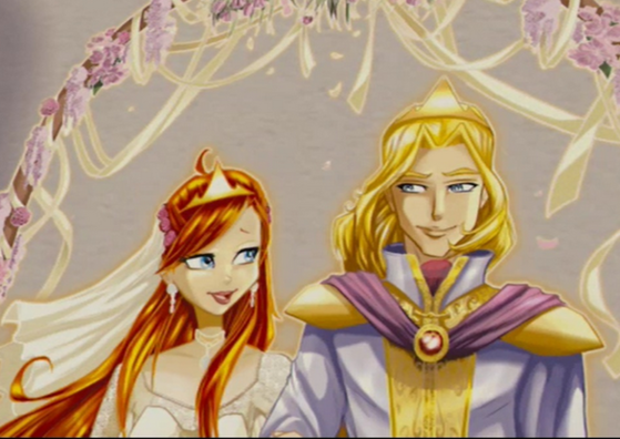 Bloom and Sky's Wedding Picture