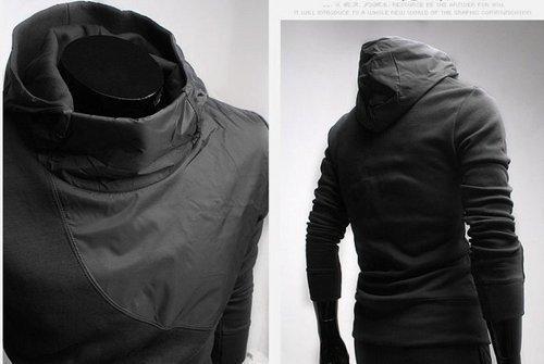 his jacket.