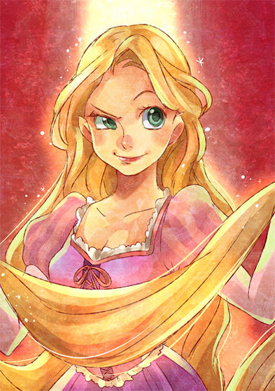 """Rapunzel"" from Deviantart"