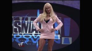 Debra on the Smackdown! Stage