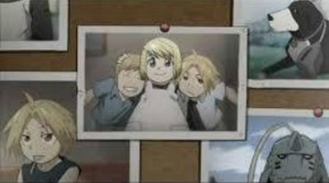 Edward,Alphonce and Winry. Best friends.