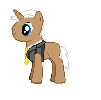 Dwight D. Eisenhower as a ٹٹو