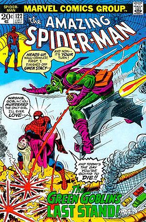 *The Amazing aranha Man #122