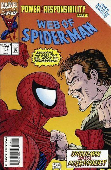 *Web of aranha Man #117