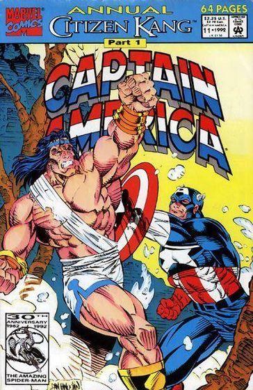 *Captain America Annual #11