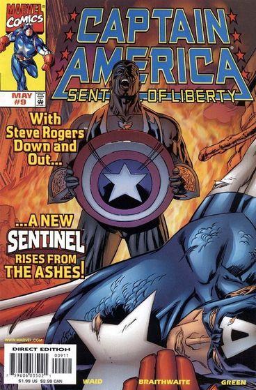 *Captain America: Sentinel of Liberty #9