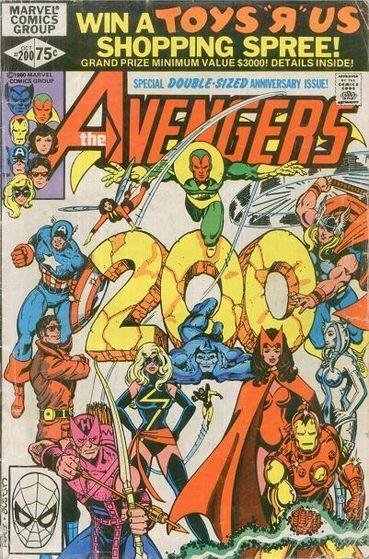 *Avengers #200