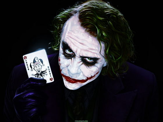 Honorable mentions: The Joker