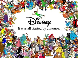 It was all started da a mouse...