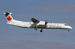 The Air Canada Plane Garth & Humphrey would be flying
