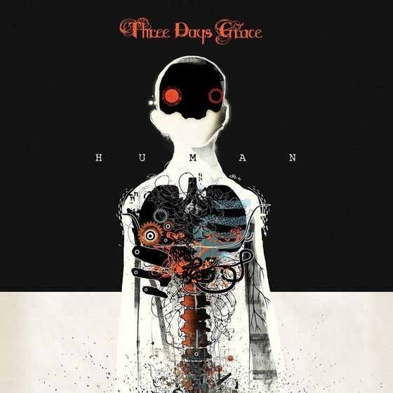 "Three Days Grace ""Human"" Album Art"