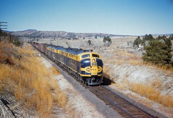 Aqua Marine's freight train