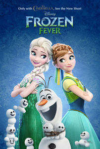 I guess Elsa is now the mother of Olaf,Marshamllow and the Snowgies.