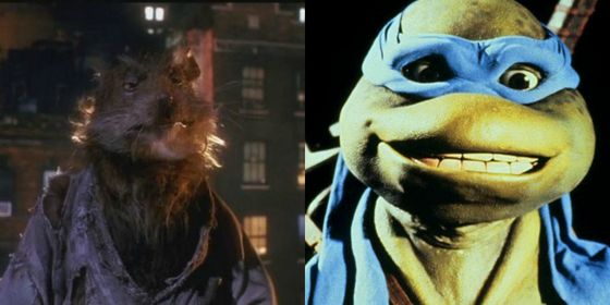 "Splinter: ""All fathers care for their sons"" Leonardo: "" They were many, but we kick...we fought well."""