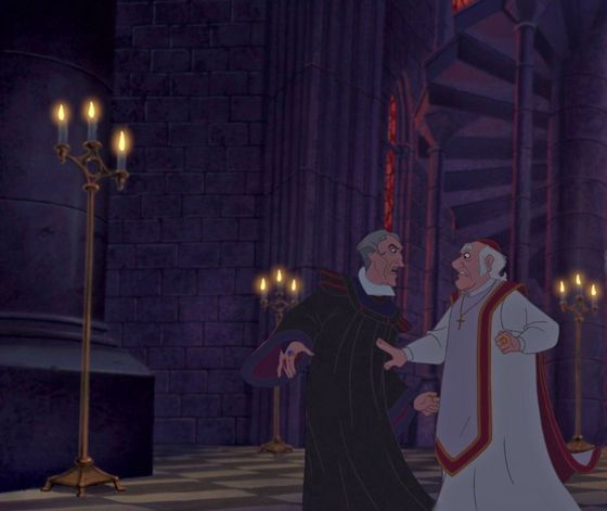 """FROLLO HAVE anda GONE MAD! I will not tolerate this assault on the house of God!"""