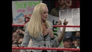 Debra outrageously flirts with Val Venis!
