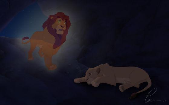 Sarabi pierde Mufasa en español