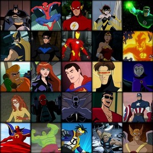 nvm that this has mostly superheroes. i couldn't find a good one of male heroes