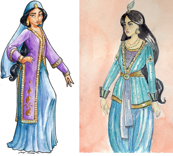 और Accurate Portrayal of an Arabian Princess