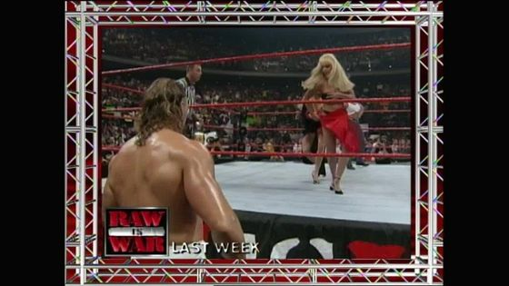 RAW recapped the گزشتہ week. Val Venis watches Debra lose an Evening گاؤن, gown match!