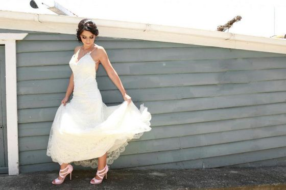 Brides love the Baby Pink Heels by Susie Sawaya Sydney