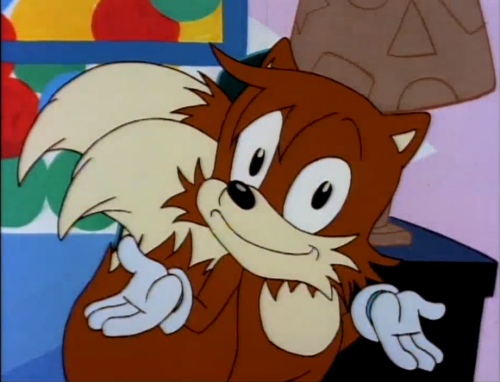 Wait, how did Tails get here?