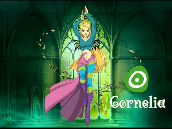Cornelia, ready to fight Tecna.