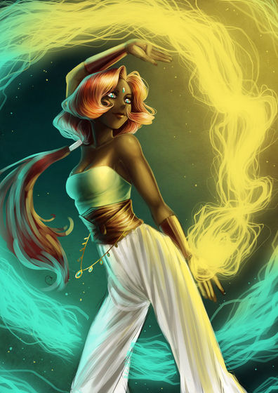 Raja: The Genie Amal of Hope
