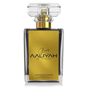 Front of aaliyah fragrance bottle