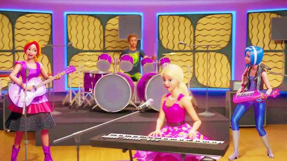 What If I Shine Lyrics Barbie In Rock N Royals Fanpop