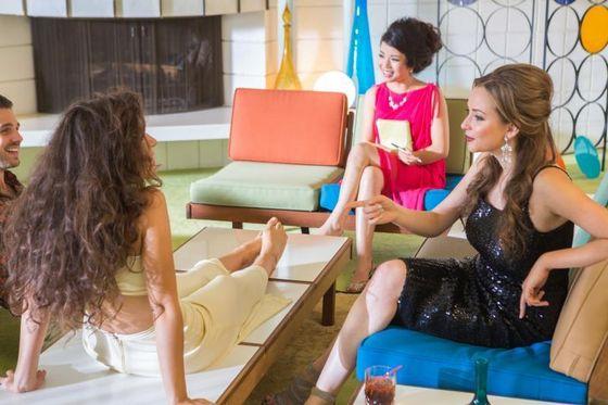 "SAYO on set: Saint Motel's ""My Type"""