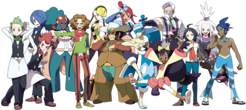 Generation 5 had the most interesting roaster of Gym Leaders than any Generation.