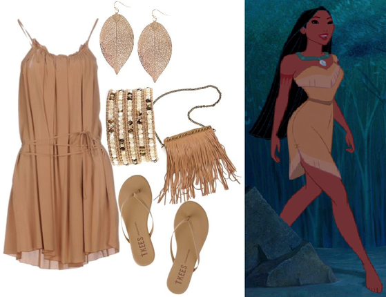 Pocahontas: Natural + Trendy/Urban