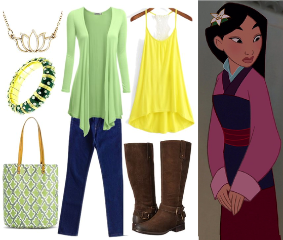 Mulan: Natural + Bohemian + Dramatic