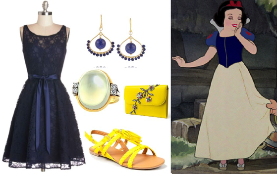 Snow White: Romantic + Bohemian