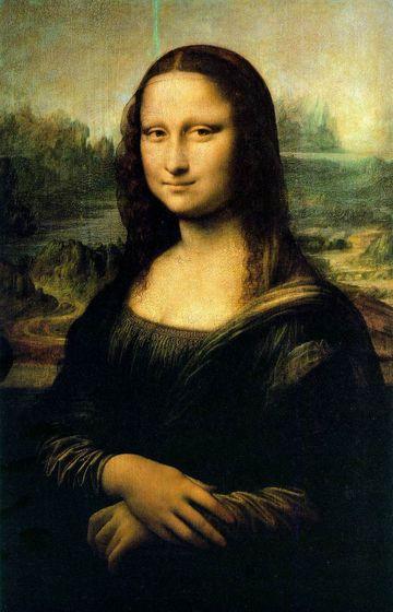 Leonardo da Vinci's Mona Lisa (1505)