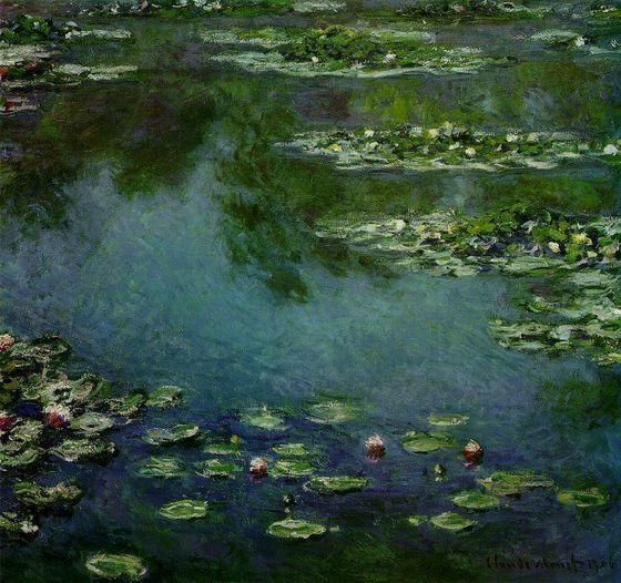 Claude Monet's Water Lilies (1919)