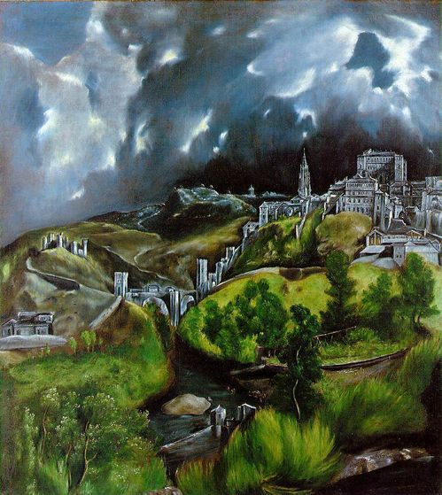 El Greco's View of Toledo (1599)