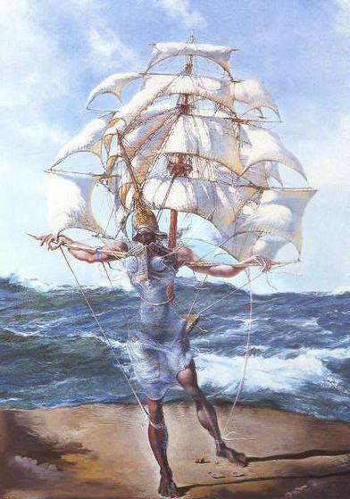 Salvador Dali's The Ship (1943)