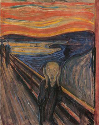 Edvard Munch's The Scream (1893)