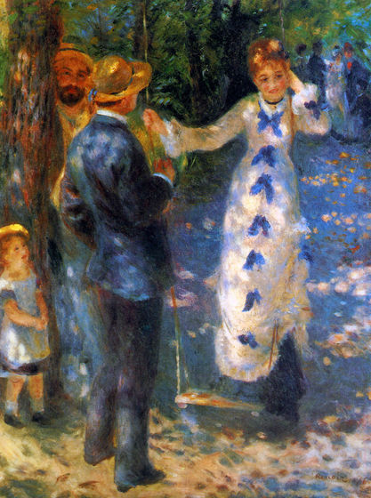 Pierre-Auguste Renoir's The Swing (1876)