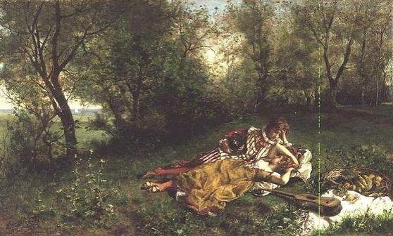 Auguste Serrure's The Picnic (1903)