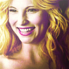 Nic as Caroline Forbes