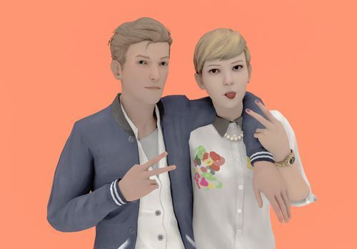 Nathan and Victoria (Life is strange)