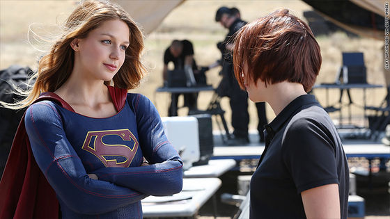 "Supergirl and ""Super"" Sister... ;)"