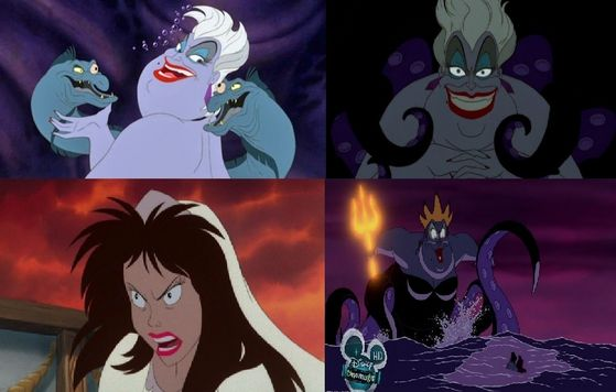 Final Vote: 43% thought Ursula was the tiếp theo least scariest villain of all.