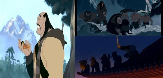 Final Vote: 78% thought Shan Yu was the scariest villain of all.