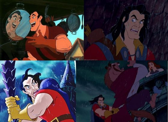 Final Vote: 66% thought Gaston was the tiếp theo least scariest villain of all.