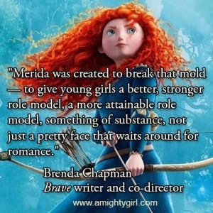 This, in my opinion, is how Merida should be portrayed.
