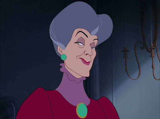 I wanna SLAP YOU! Lady Tremaine!!